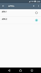 Sony Xperia X Compact - Internet - handmatig instellen - Stap 19