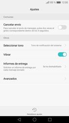 Huawei P9 Lite - Mensajería - Configurar el equipo para mensajes de texto - Paso 6