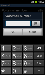 Samsung I8160 Galaxy Ace II - Voicemail - Manual configuration - Step 7