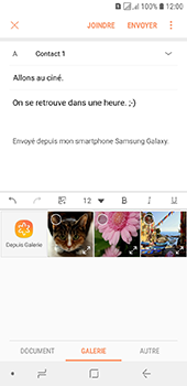 Samsung Galaxy J6 - E-mails - Envoyer un e-mail - Étape 13