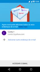 Motorola Moto E (2ª Geração) - Email - Como configurar seu celular para receber e enviar e-mails - Etapa 16