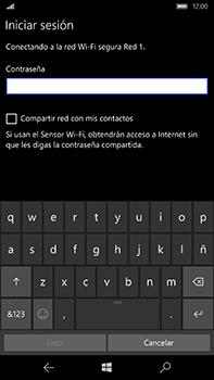 Microsoft Lumia 950 XL - WiFi - Conectarse a una red WiFi - Paso 8