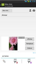 HTC Desire 516 - MMS - Envoi d