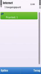 Nokia C6-00 - Internet - handmatig instellen - Stap 12