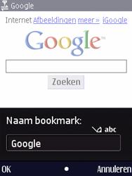 Nokia N86 - Internet - Hoe te internetten - Stap 6