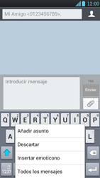 LG Optimus L9 - Mensajería - Escribir y enviar un mensaje multimedia - Paso 10