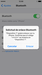 Apple iPhone SE - Bluetooth - Conectar dispositivos a través de Bluetooth - Paso 6