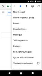 Sony Xperia XZ Premium - Android Oreo - Internet - navigation sur Internet - Étape 12