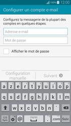 Samsung G850F Galaxy Alpha - E-mail - Configuration manuelle - Étape 6
