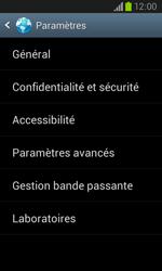 Samsung I8260 Galaxy Core - Internet - Configuration manuelle - Étape 22