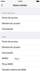 Apple iPhone 5s iOS 10 - Internet - Configurar Internet - Paso 8