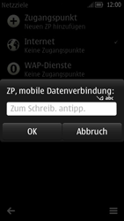 Nokia C7 - Internet - Internetverbindung - Manuelle Einstellung - Schritt 12