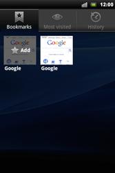 Sony Ericsson Xperia Mini Pro - Internet - Internet browsing - Step 7