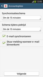 Samsung C105 Galaxy S IV Zoom LTE - E-mail - handmatig instellen - Stap 15