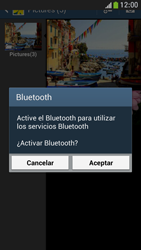 Samsung Galaxy S4 Mini - Bluetooth - Transferir archivos a través de Bluetooth - Paso 10