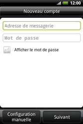 HTC A510e Wildfire S - E-mail - Configurer l