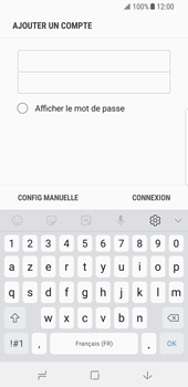 Samsung Galaxy S8 - Android Oreo - E-mail - Configurer l