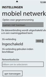 HTC C110e Radar - Buitenland - Bellen, sms en internet - Stap 8