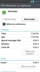 LG Optimus F5 - Applications - Supprimer une application - Étape 6