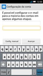 Alcatel POP C7 - Email - Configurar a conta de Email -  10