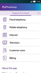 Huawei Y5 - Applications - MyProximus - Step 20