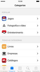 Apple iPhone SE iOS 10 - Aplicações - Como pesquisar e instalar aplicações -  5