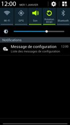 Samsung G386F Galaxy Core LTE - MMS - configuration automatique - Étape 6