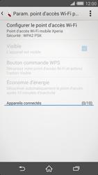 Sony Xperia Z2 - Internet et connexion - Partager votre connexion en Wi-Fi - Étape 11