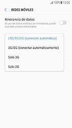 Samsung Galaxy J5 (2017) - Red - Seleccionar el tipo de red - Paso 7
