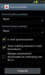 Samsung I8190 Galaxy S III Mini - E-mail - Handmatig instellen (yahoo) - Stap 7