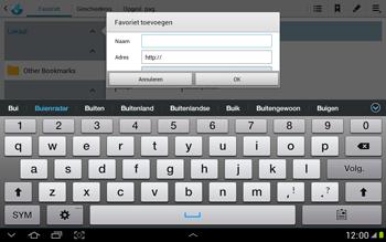 Samsung N8000 Galaxy Note 10-1 - Internet - hoe te internetten - Stap 8