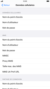 Apple iPhone 7 Plus - iOS 13 - Internet - configuration manuelle - Étape 7