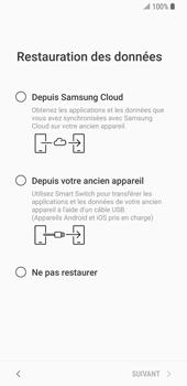 Samsung Galaxy S9 - Premiers pas - Configuration de l