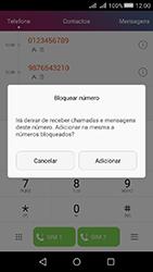 Huawei Y5 II - Chamadas - Como bloquear chamadas de um número -  5
