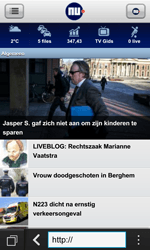 BlackBerry Z10 - Internet - Hoe te internetten - Stap 13