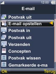 Sonim XP3300 Force - E-mail - E-mails verzenden - Stap 5