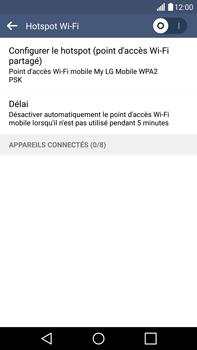 LG G4 - Internet et connexion - Partager votre connexion en Wi-Fi - Étape 6