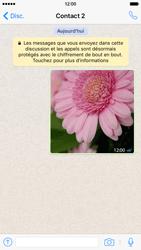 Apple iPhone 6 iOS 9 - WhatsApp - Supprimer les messages instantanés - Étape 6