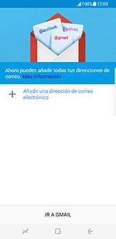 Samsung Galaxy S8 - E-mail - Configurar Gmail - Paso 6