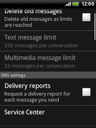 HTC A3333 Wildfire - SMS - Manual configuration - Step 6
