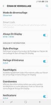 Samsung Galaxy Note 9 - Sécuriser votre mobile - Activer le code de verrouillage - Étape 5
