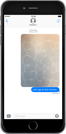 Apple iPad Pro 9.7 - iOS 10 - iOS features - Fonctions iMessage - Étape 8