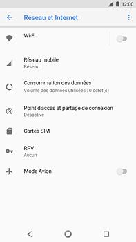 Nokia 6 (2018) - Réseau - Changer mode réseau - Étape 5