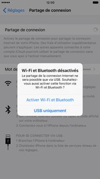 Apple iPhone 7 Plus - Internet et connexion - Utiliser le mode modem par USB - Étape 7