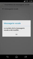 Sony D6603 Xperia Z3 - Messagerie vocale - configuration manuelle - Étape 10