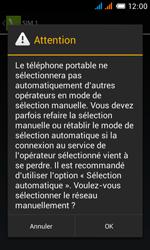 Alcatel OT-4033X Pop C3 - Réseau - Utilisation à l