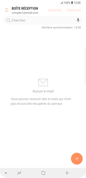Samsung Galaxy S9 Plus - E-mail - Envoi d