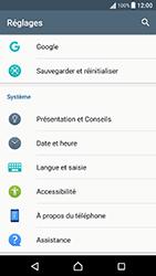 Sony Xperia X Performance (F8131) - Appareil - Réinitialisation de la configuration d