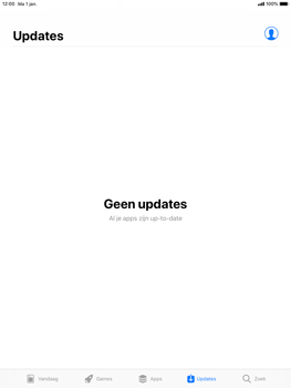 Apple iPad 9.7 (2018) iOS12 - Apps - apps updaten - Stap 5