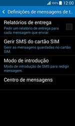Samsung Galaxy Core II - SMS - Como configurar o centro de mensagens -  7